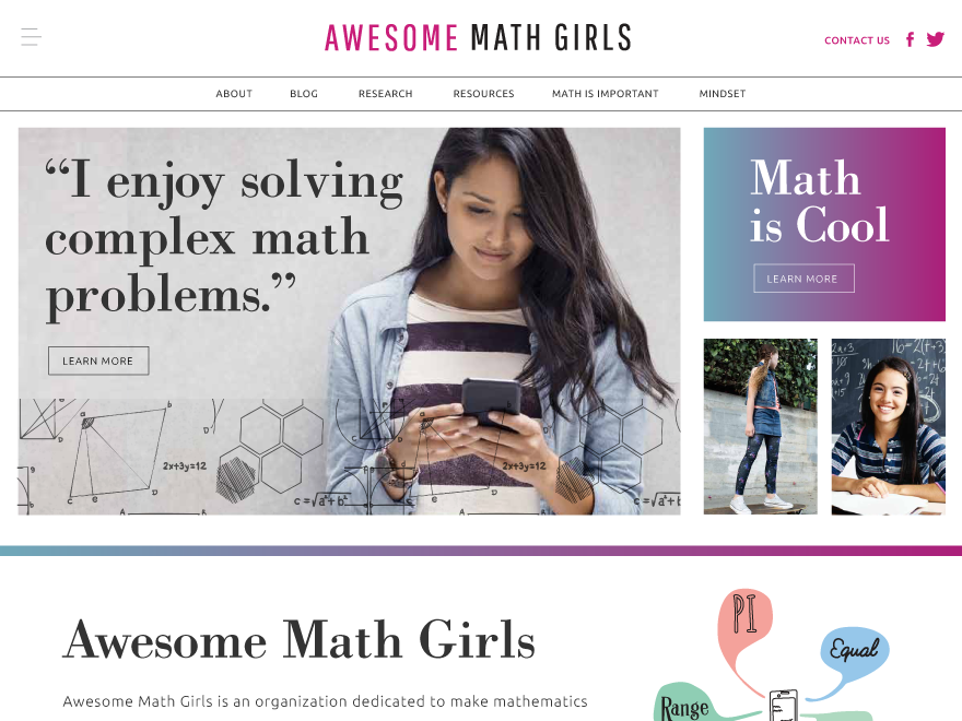 Awesome Math Girls » Blog Archive » Math Talent and their